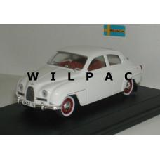 SAAB 96 1961 polar wit SMCC Replicar 1:43
