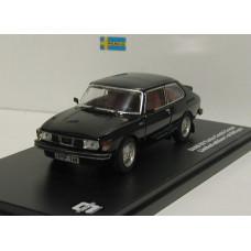 Saab 99 Turbo Combi coupe 1977 zwart Triple 9 1:43