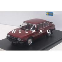 Saab 99 Turbo Combi coupe 1977 wijn rood metallic Premium-X 1:43