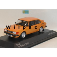 SAAB 99 Turbo Combi Coupe 1977 oranje WhiteBox