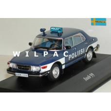 Saab 99 Poliisi Politie Finland Atlas 1:43