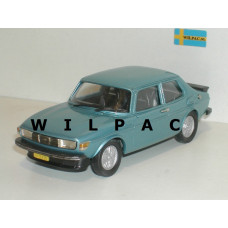 SAAB 99 Turbo 1979 aquamarine blauw metallic Rob Eddie 1:43 RE28a