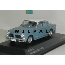 Volvo Amazon 1965 blauw wit WhiteBox 1:43
