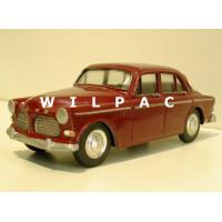 Volvo Amazon 4 deurs 1966 donker rood Bumper 1:22½