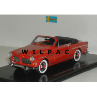Volvo Amazon 1962 Coune cabriolet rood 1:43 NEO