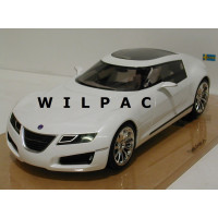 SAAB Aero-X parelmoer wit metallic 2006 DNA Collectibles 1:18