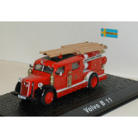 Volvo B11 brandweer ladderwagen Atlas 1:72