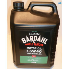 Bardahl 5 liter motorolie 15W40 Classic Multigrade olie