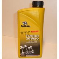 Bardahl 1 liter motorolie XTC Turbo 20W50 multigrade olie