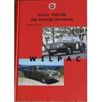 Boek: Volvo 140 164 der kantige Schwede - alleen in het Duits