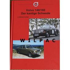 Boek: Volvo 140 164 der kantige Schwede - Duitstalig Kunz