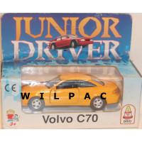Volvo C70 coupe 1998 geel Brio Junior Driver 1:43
