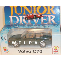 Volvo C70 cabrio 1998 donkergroen Brio Junior Driver 1:43