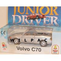 Volvo C70 cabrio 1998 zilvergrijs metallic Brio Junior Driver 1:43