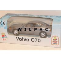 Volvo C70 coupe 1998 grijs metallic Brio Junior Driver 1:43