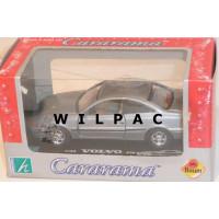 Volvo C70 coupe 1998 grijs metallic Cararama 1:43