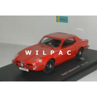 Saab Catherina  GT prototype rood 1964 Avenue 43 Autocult 1:43