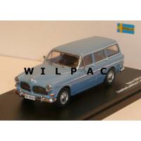 Volvo Amazon Combi 1966 blauw grijs Triple 9 1:43