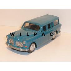 Volvo Amazon Combi 1966 middenblauw Bumper 1:22½