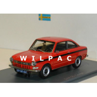 DAF 55 Coupé rood Neo 1:43