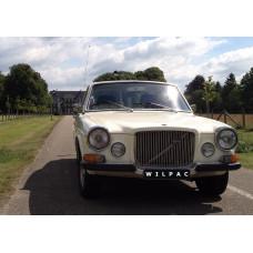1969 Volvo 164 Overdrive California wit LPG
