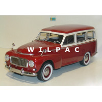 Volvo PV445 Duett 1:18 1956 rood grijs BoS Best of Show 1:18
