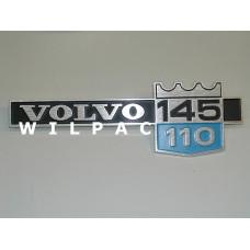 1211096 Embleem Volvo 145 110 1972