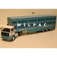 Volvo F89 veewagen veetransport oplegger 1:43 ! Altaya