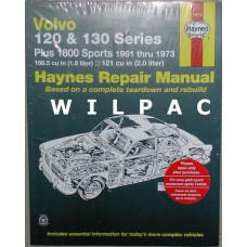 Boek: Volvo Amazon Haynes Workshop Manual +P1800 Softback Engels