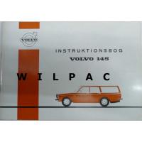 Instructieboekje Volvo 145 1971 Deens TP765/1