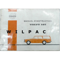 Instructieboekje Volvo 145 1971 Frans TP767/1