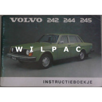 Instructieboekje Volvo 240 1975 Nederlands TP1169/1