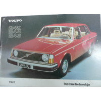 Instructieboekje Volvo 240 1978 Nederlands TP1552/1