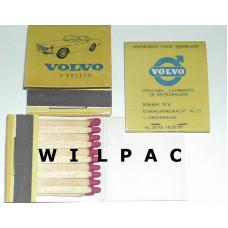 Pakje met 20 lucifers Volvo P1800 = veilig Niham