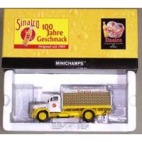Mercedes L3500 Sinalco truck drankwagen 1:43 Minichamps