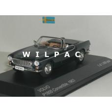 Volvo P1800 Cabrio Volvoville 1963 donkerblauw WhiteBox 1:43