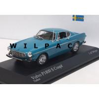Volvo P1800 1969 turquoise zwart interieur Minichamps 1:43