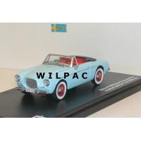 Volvo P1900 Cabrio 1956 lichtblauw Triple 9 1:43