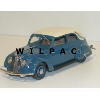 Volvo PV36 Carioca 1935 cabrio blauw Rob Eddie RE16A 1:43