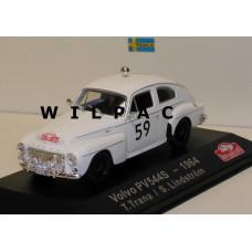 Volvo PV544 1964 Monte Carlo Rally Trana Lindström Atlas 1:43
