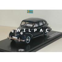 Volvo PV60 1947 donkerblauw Triple 9 1:43