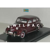 Volvo PV60 1947 donkerrood Premium X 1:43