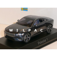 Polestar 1 2020 midnight blue blauw metallic Norev 1:43