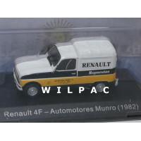 Renault 4 4F bestel Repuestos Automotores Munro 1982 Atlas Altaya 1:43