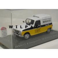 Renault 4 F4 Fourgonette bestel Service 1983 Atlas Altaya 1:43