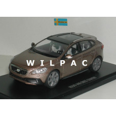 Volvo V40 Cross Country 2013 raw copper metallic Motor Art 1:43
