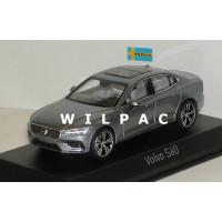 Volvo S60 2018 osmium grey grijs metallic Norev 1:43