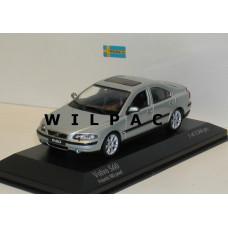 Volvo S60 2000 ijsblauw metallic Minichamps 1:43 430171260