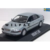 Volvo S80 1998 groen / grijs metallic Minichamps 1:43