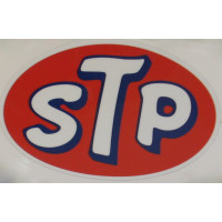 Sticker STP 78 x 118 mm olie additives